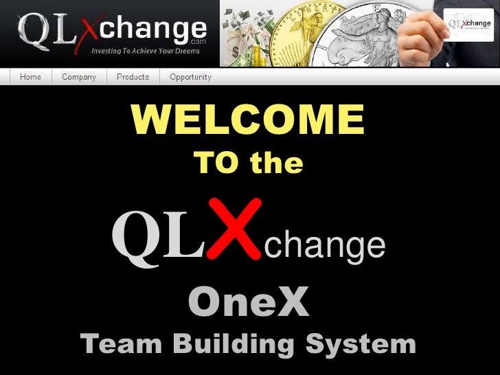 OneX QLxchange