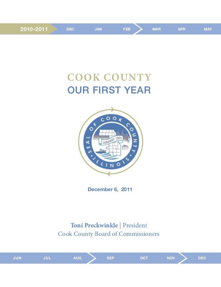 2010-2011      DEC        JAN         FEB         MAR         APR     MAY                  COOK COUNTY                  OU...