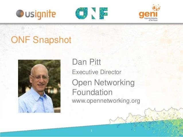 ONF Snapshot