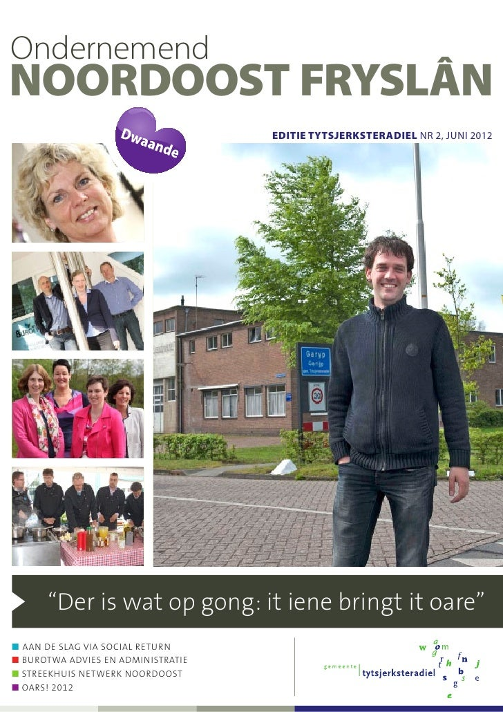 Ondernemend NO Frl editie Tytsjerksteradiel juni 2012
