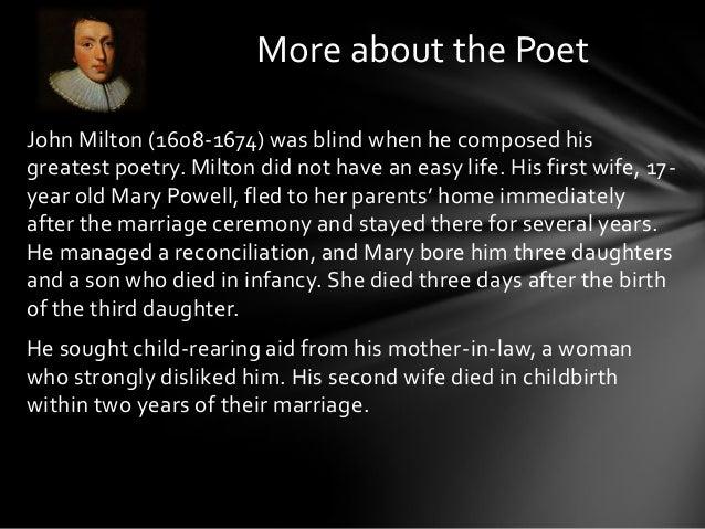 John Milton xix