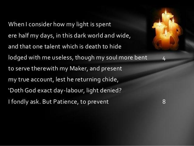 John Milton sonnets
