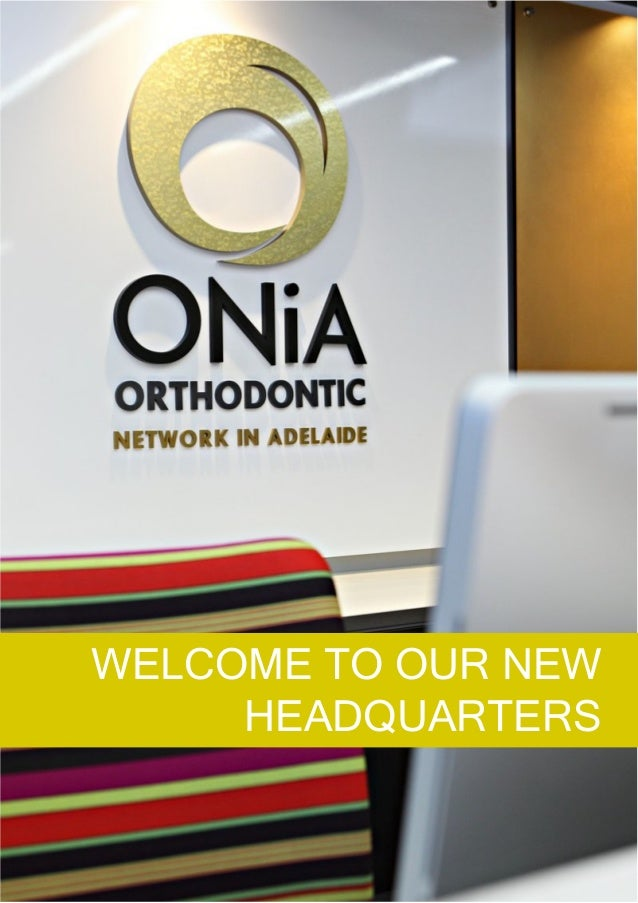 WELCOME TO OUR NEW HEADQUARTERS