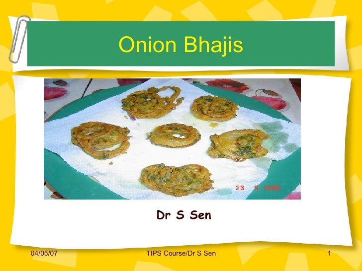 Onion Bhajis-the perfect indian snack