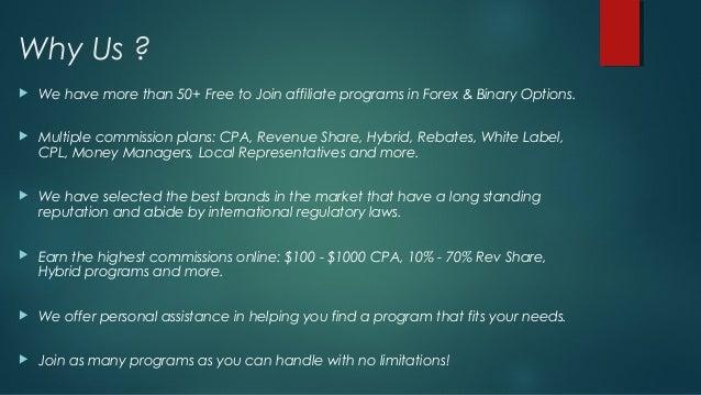 Best affiliate program binary options