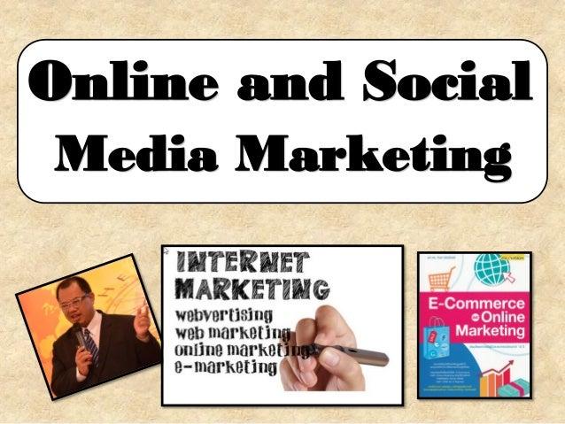 Online and-social media-marketing