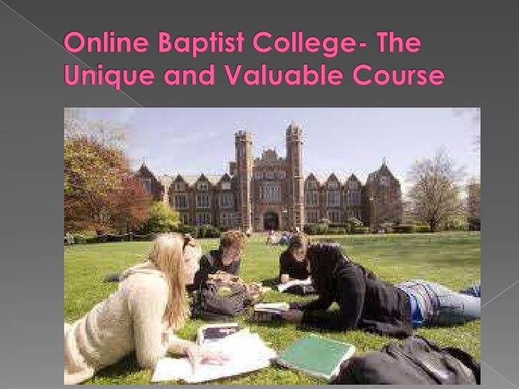 Online Baptist College- The Unique and Valuable Course