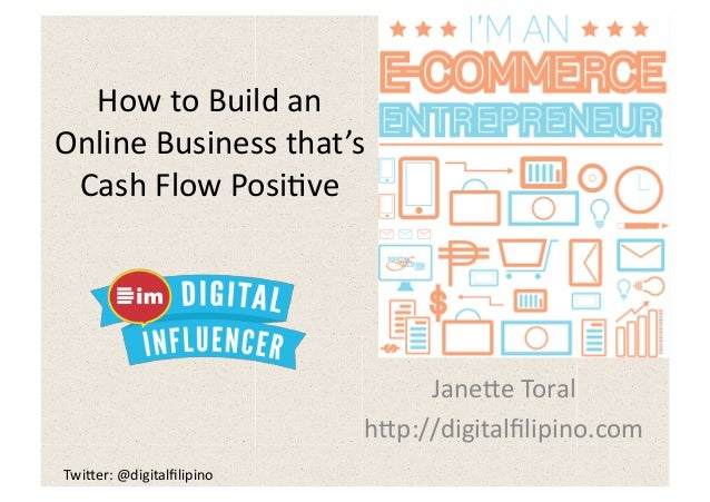 How to Build an Online Business that's Cash Flow Positive