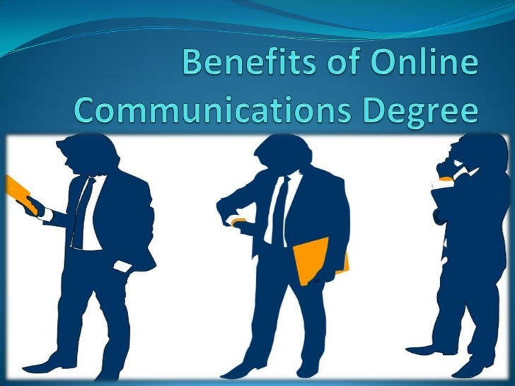 Benefits of Online Communications Degree