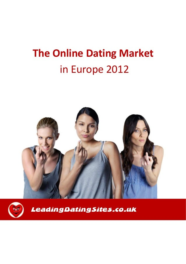 Online dating marked i Europa