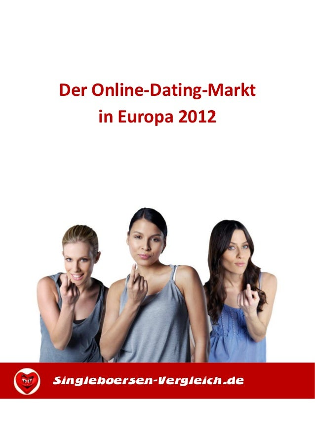 Der Online-Dating-Marktin Europa 2012Singleboersen-Vergleich.de