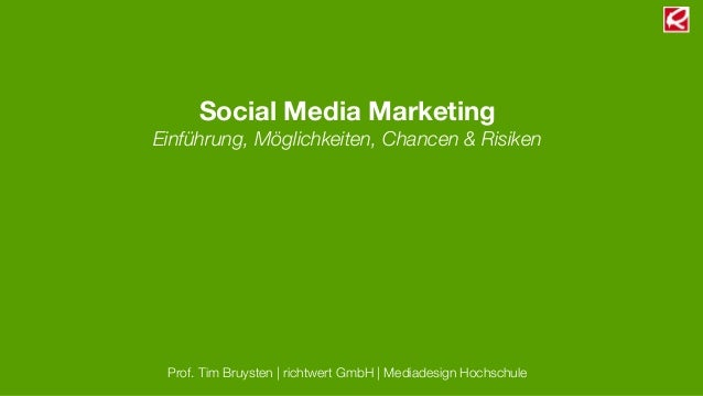 Online Marketing Manager 2013 - Social Media Marketing