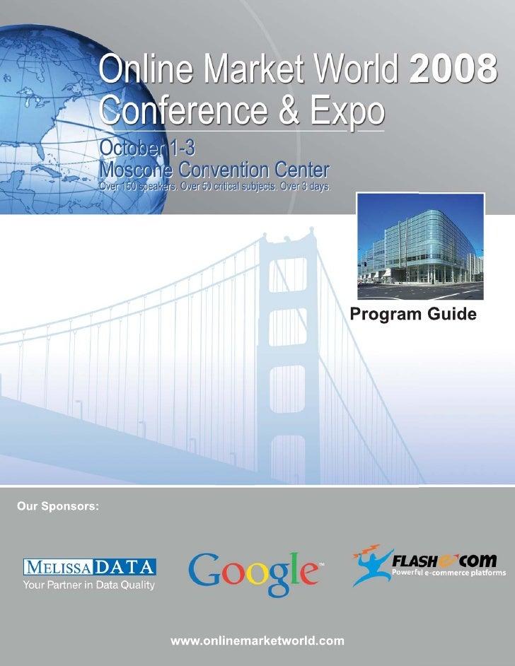 Online Markets World Program Guide