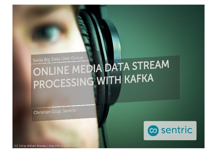 Online Media Data Stream Processing with Kafka