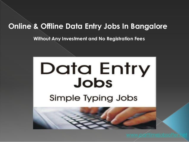 Data Entry Job Work From Home Without Investing