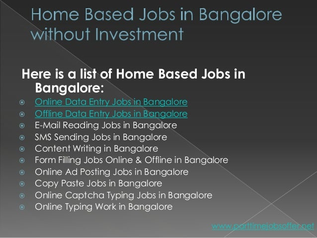 How To Make Money From Home In Bangalore