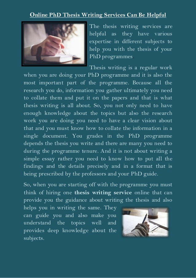 phd thesis service quality Our phd expert professors provide standard phd thesis writing services, thesis writing service with online  based quality work with online guidance to phd.