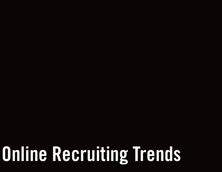 Online Recruiting Trends