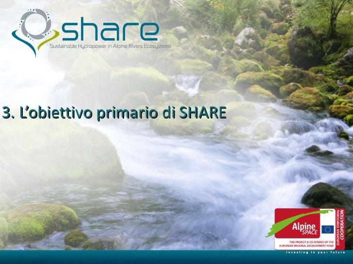 3. L'obiettivo primario di SHARE