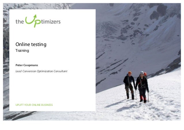 Online testing training offered by the Uptimizers