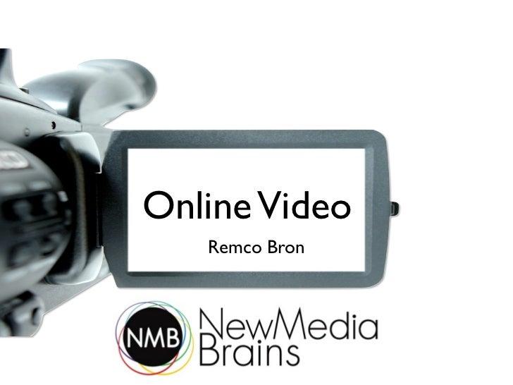 Online video presentatie New Media Brains 21 juni