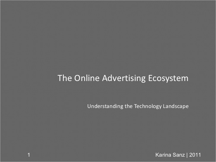 Understanding the Online Advertising Technology Landscape