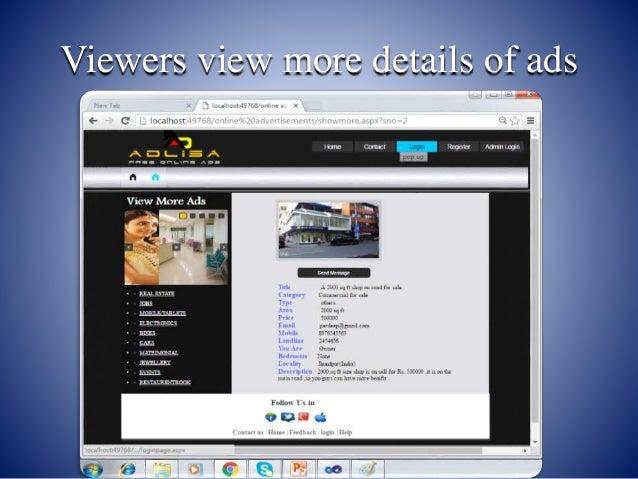 View presentation online