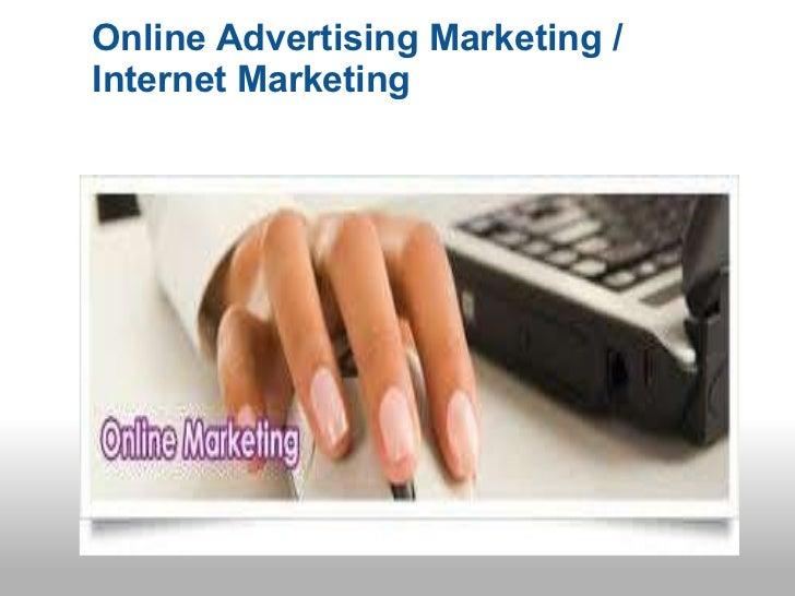 Online advertise marketing