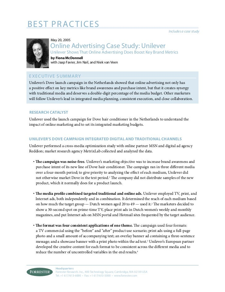 case study for online advertising Explore case studies for previous and on-going clients discover the benefits an integrated digital marketing plan can have on your business or industry.