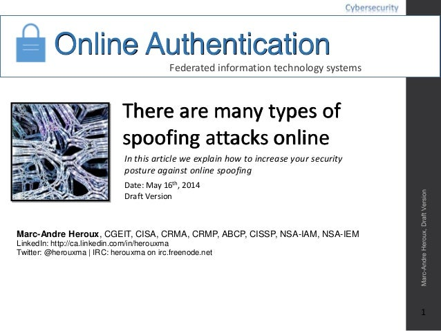 Online Authentication