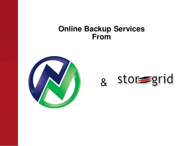 Online Backup Services From &