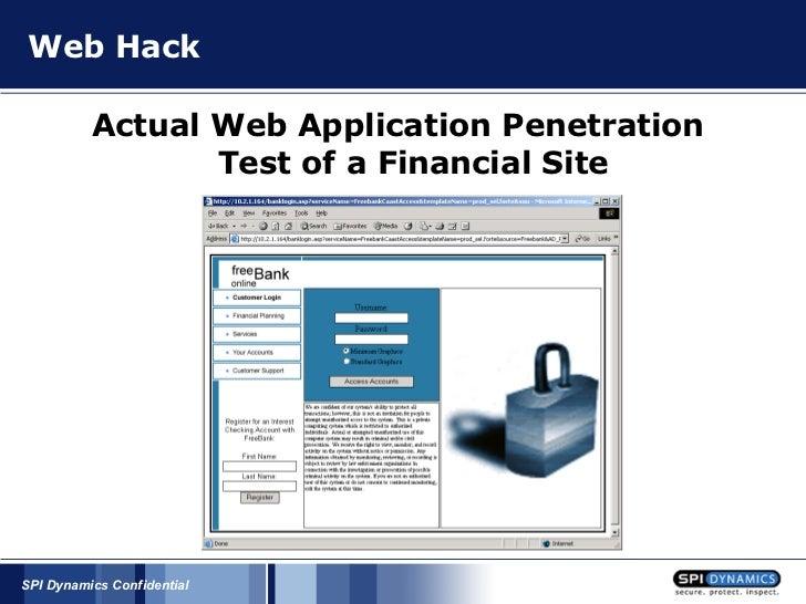 Online Bank Hack