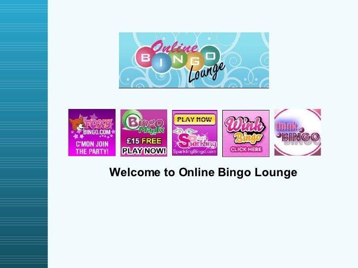 Welcome to Online Bingo Lounge