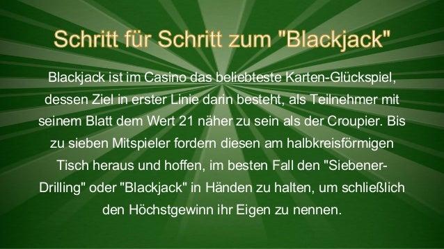 Blackjack ist im Casino das beliebteste Karten-Glückspiel, dessen Ziel in erster Linie darin besteht, als Teilnehmer mit s...