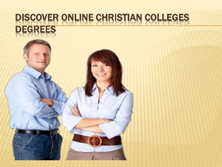 DISCOVER ONLINE CHRISTIAN COLLEGESDEGREES