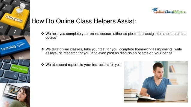 Take online class for me
