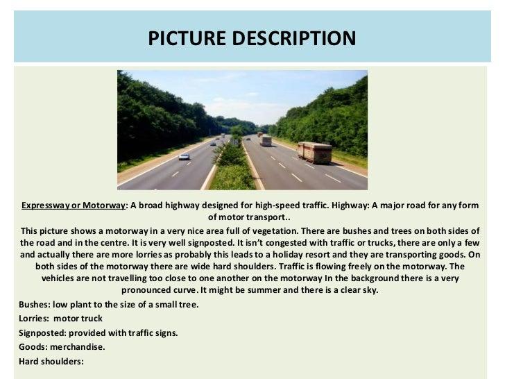 Online class  picture description