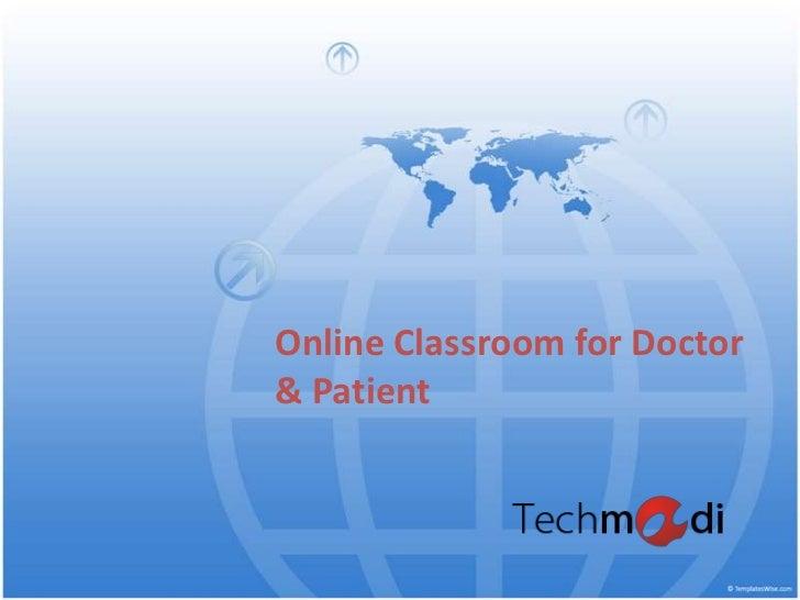 Online classroom doctor_and_patient