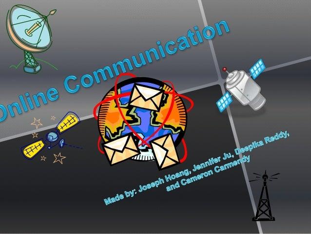 Online communication per 4
