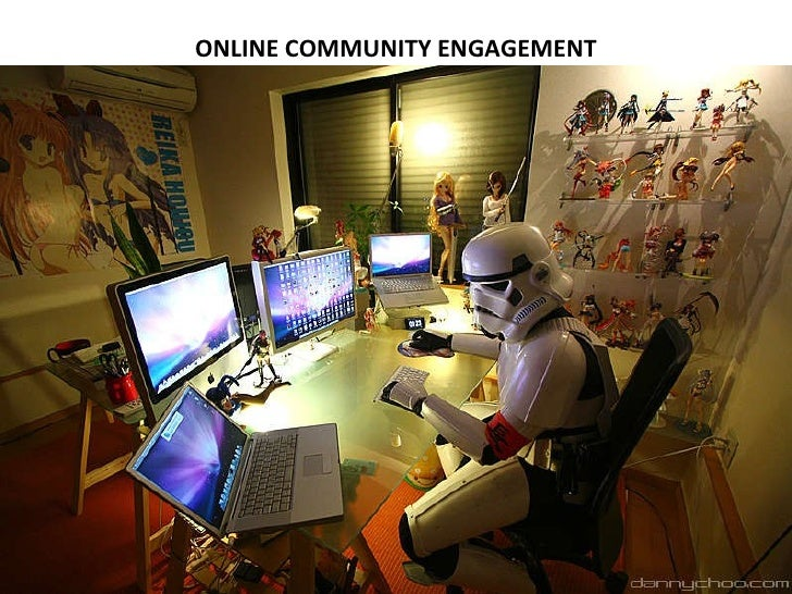 ONLINE COMMUNITY ENGAGEMENT