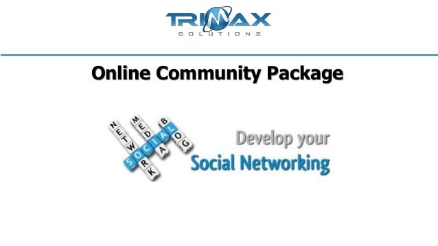 Online community package