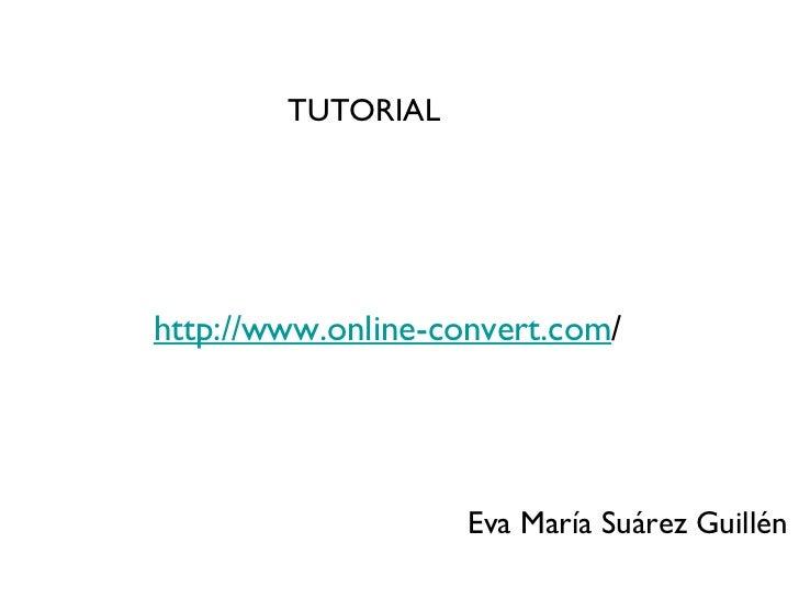 Onlineconvert