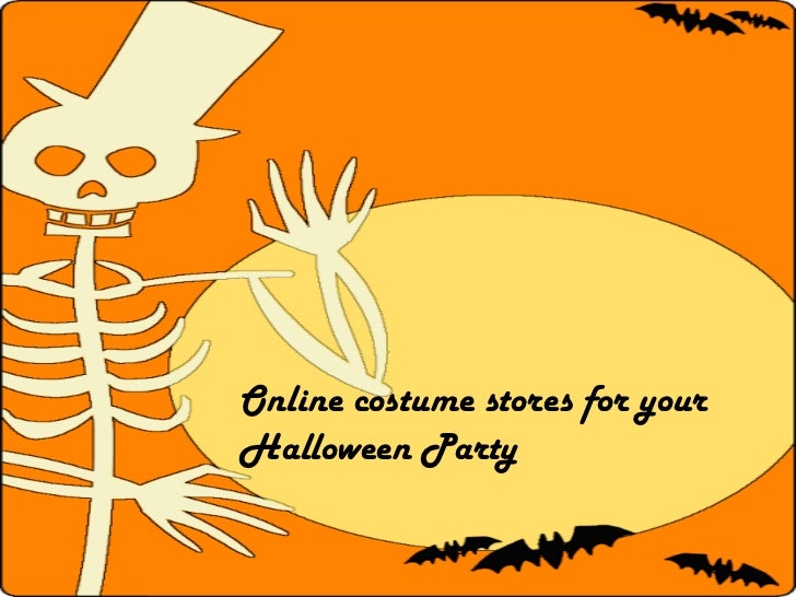 Online costume stores for yourHalloween Party
