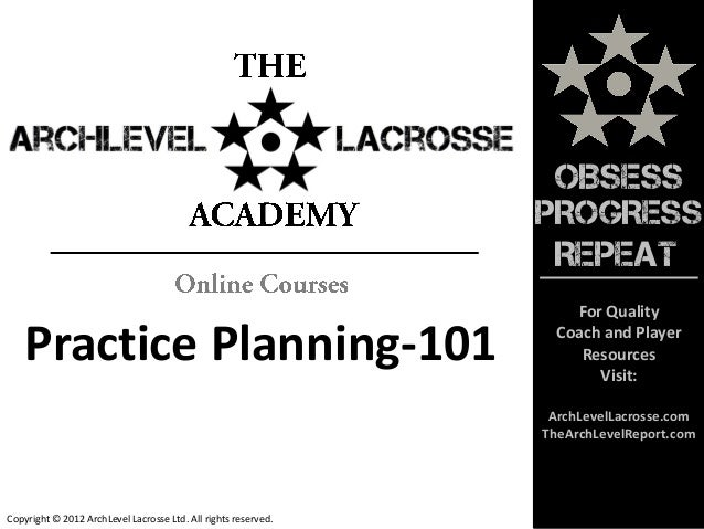 lacrosse practice plan template practice planning 101 lacrosse