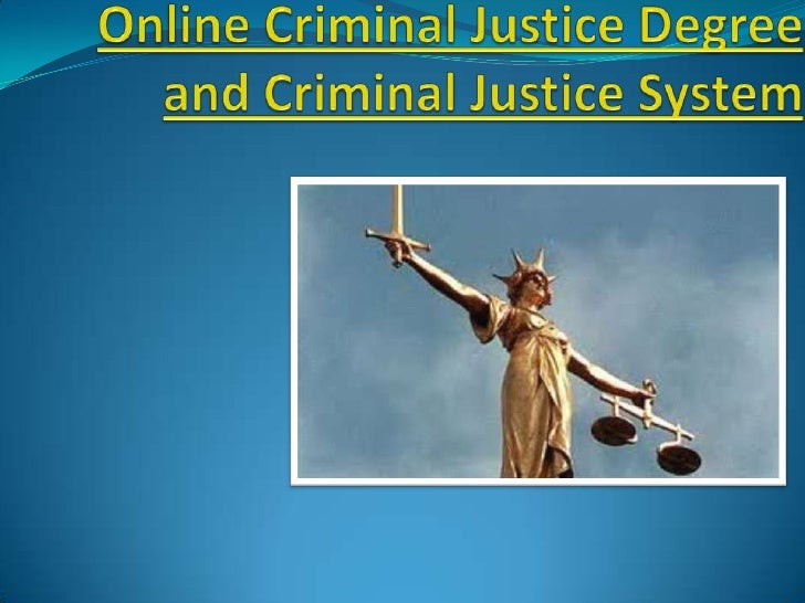 Criminal Justice bcourss
