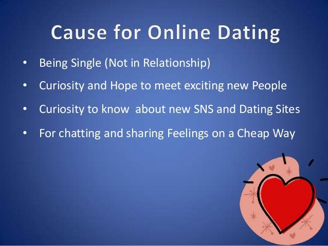 Has online dating ruined relationships