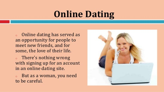Safe online dating tips
