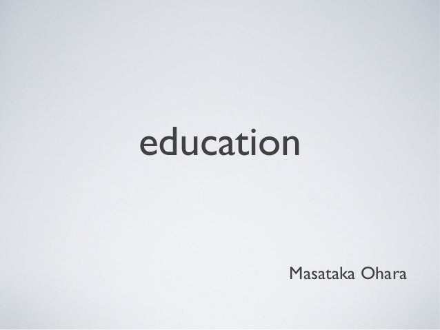 online education etc