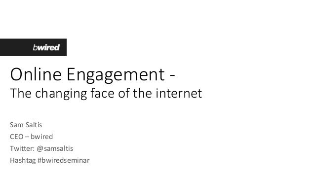 Online Engagement - how to achieve results on the web