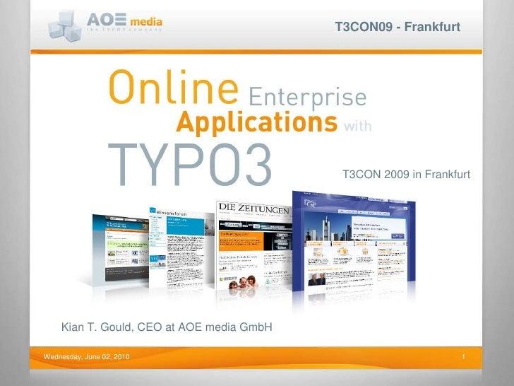 Open Source Enterprise Web Applications